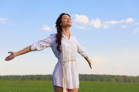 It so wonderful to breathe fresh, clean air.